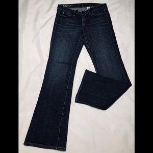 Men's J. Crew jeans.